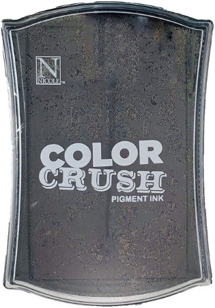 Carimbeira Pigment Ink Color Crush – Marrom Escuro