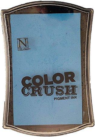 Carimbeira Pigment Ink Color Crush – Azul Claro