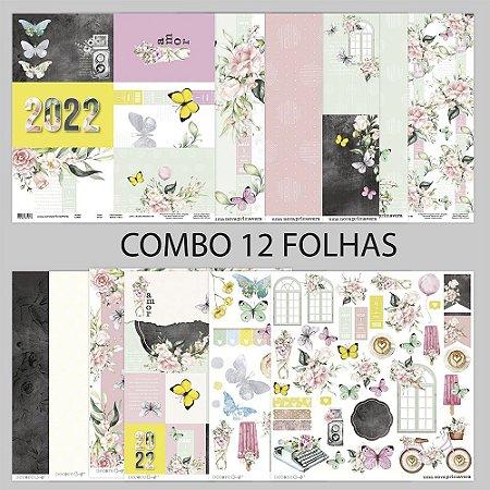 COMBO UMA NOVA PRIMAVERA - 12 FOLHAS