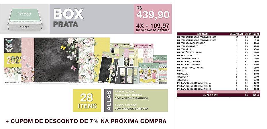 TENDA BOX - PRATA