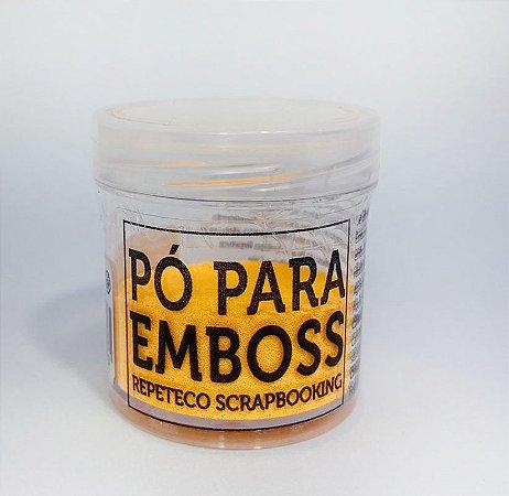 PÓ PARA EMBOSS RPTCO SCRAP - LARANJA OPACO