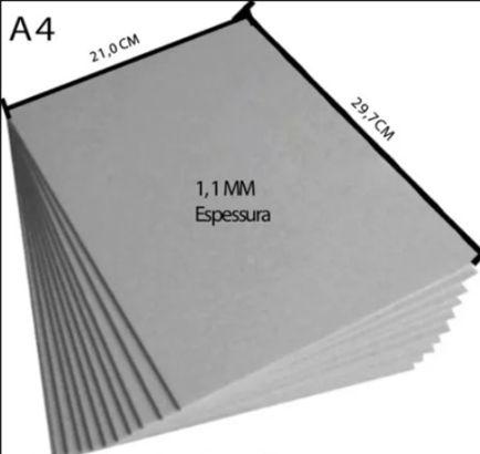 Holler A4 1,1mm - 21 x 29,7 cm - 2 unidades