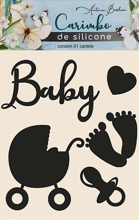 CARIMBO DE SILICONE BABY - 70 x 80mm