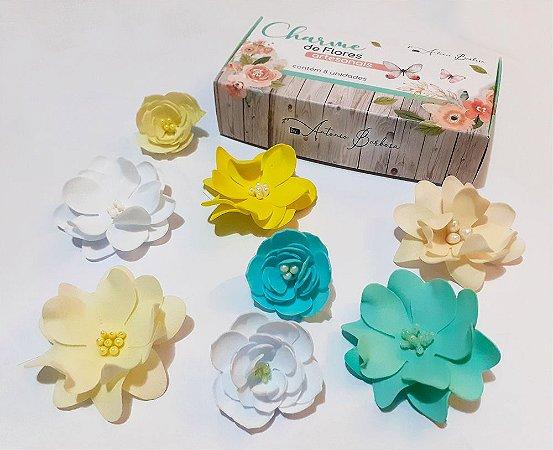 Charme de Flores Artesanais - Foam Soft - À procura da Felicidade