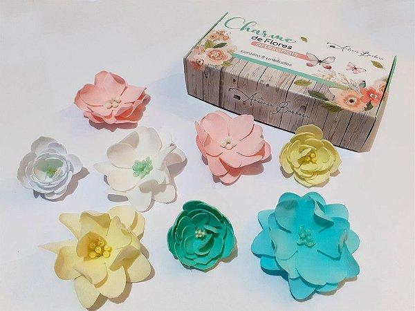 Charme de Flores Artesanais - Foam Soft - Sonho de Flores