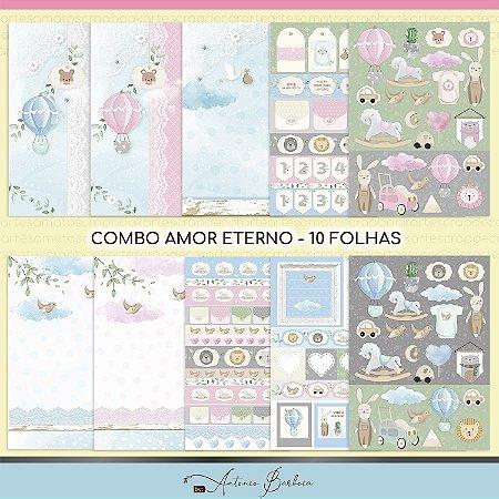 Combo Amor Eterno Baby - 10 Folhas