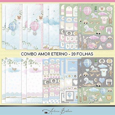 PROMO - Combo Amor Eterno Baby - 20 Folhas