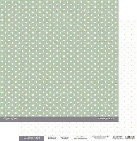 Coleção Básica Soft Verde Oliva Poá