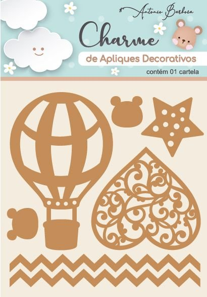 Charme de Apliques Decorativos - Amor Eterno Elementos