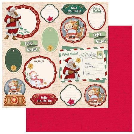 Coleção - Meu Natal Colorido - Tag Natalina