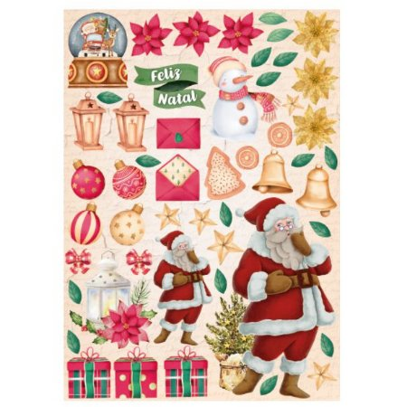 Coleção - Meu Natal Colorido - Recortes Natalinos