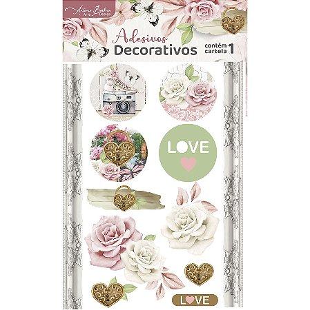 Adesivos Selos - Encanto de Flores