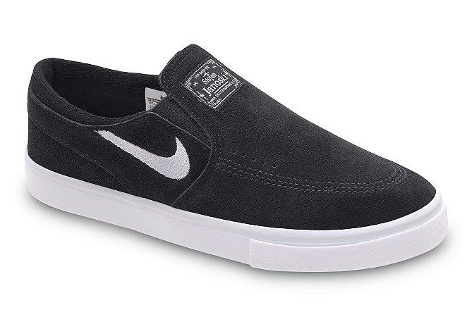 Tênis Nike Sb Zoom Stefan Janoski Slip-on Preto / Branco - Canguru Shoes