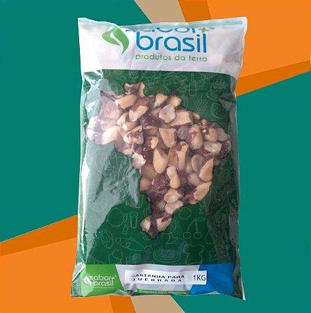 CASTANHA DO PARÁ QUEBRADA 1kg - SABOR MAIS BRASIL