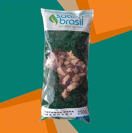 CASTANHA DO PARÁ QUEBRADA 250g - SABOR MAIS BRASIL
