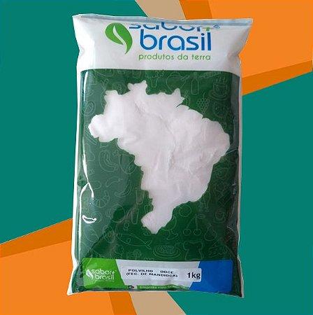 POLVILHO DOCE (FÉCULA DE MANDIOCA) 1kg - SABOR MAIS BRASIL