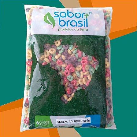 CEREAL COLORIDO SÃO BRAZ 500g - SABOR MAIS BRASIL