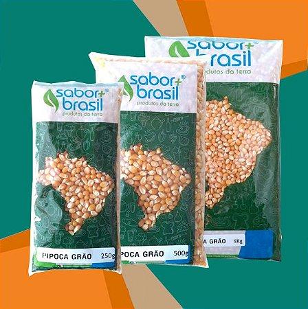 PIPOCA GRÃO - SABOR MAIS BRASIL