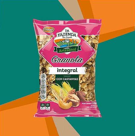 GRANOLA COM CASTANHAS INTEGRAL 1kg - BIOSOFT