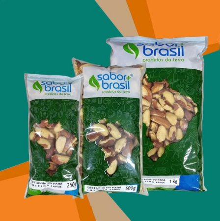 CASTANHA DO PARA GRANDE - SABOR MAIS BRASIL