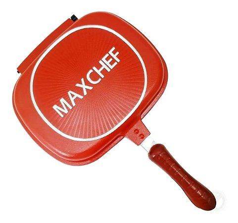 Panela Frigideira Dupla Multiuso Antiaderente MaxChef