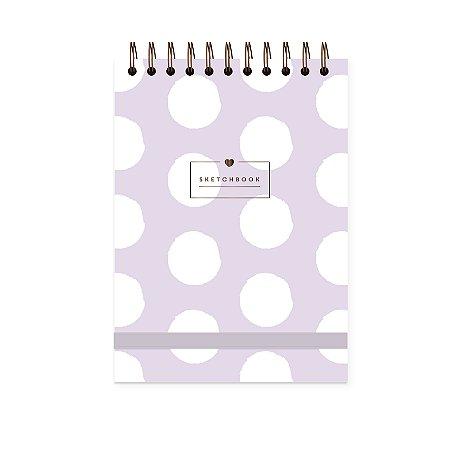 Purple   Sketchbook A5