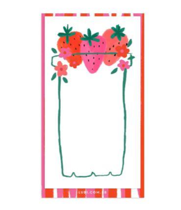 Morangos | Notepad