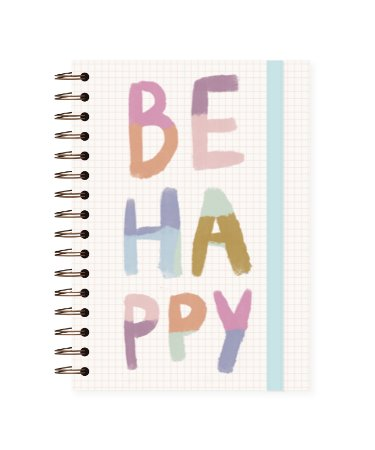 Be Happy | Caderno A5