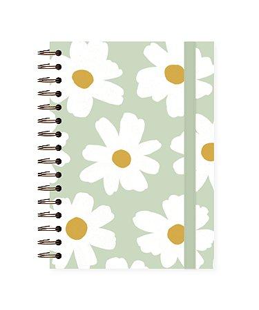 Floral Pistache | Caderno A4 ∙ 90 folhas