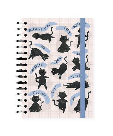 Gatos Ioga | Caderno A4 ∙ 180 folhas