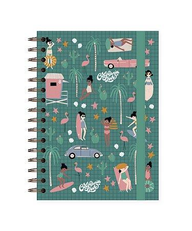Califórnia | Caderno Colegial ∙ 90 folhas