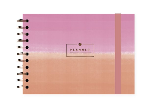 Degradê Rosa | Planner ∙ Semanal