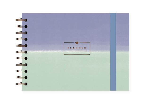 Degradê Azul | Planner Semanal