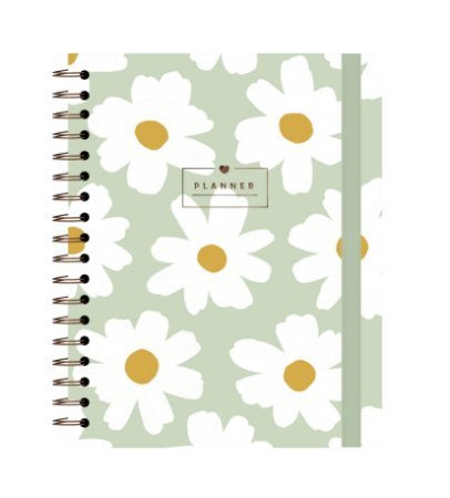 Floral Pistache   Planner Anual