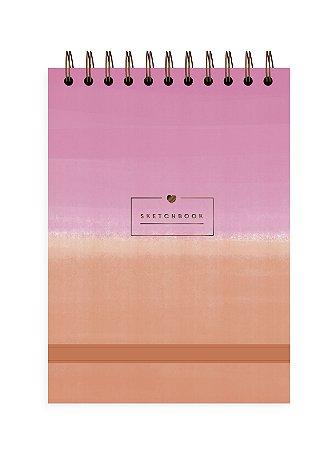 Degradê Rosa | Sketchbook ∙ A5