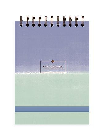 Degradê Azul | Sketchbook ∙ A5