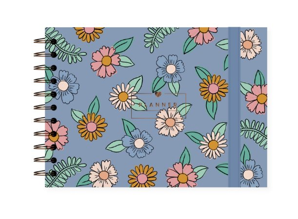 Floral Azul | Planner ∙ Semanal