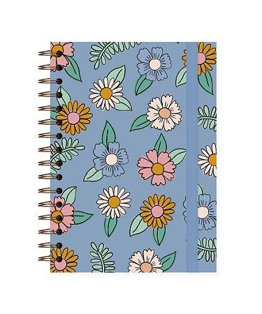 Floral Azul | Caderno A5