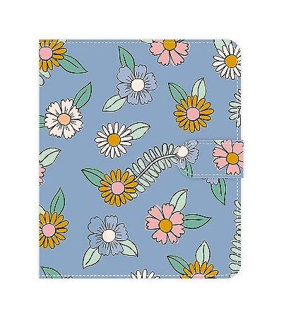 Floral Azul | Fichário