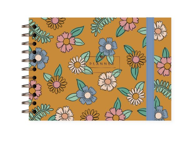 Floral Amarelo | Planner ∙ Semanal
