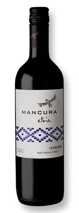 Vinho Mancura Etnia Carmenere 750ml