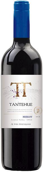 Vinho Tantehue Merlot 750ml