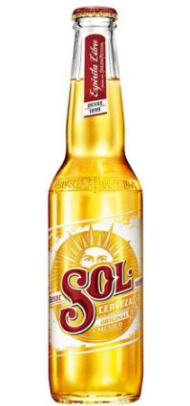 Cerveja Mexicana Sol Premium Long Neck 355ml