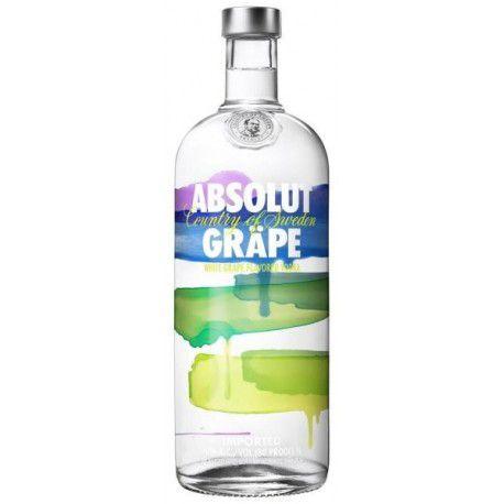 Vodka Absolut Grape 1l