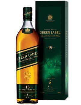 Whisky Johnnie Walker Green Label 15 anos 1l