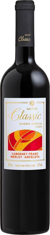 Vinho Salton Classic Trivarietal Suave 750ml