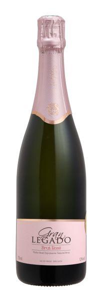 Espumante Gran Legado Brut Rosé Charmat 750ml