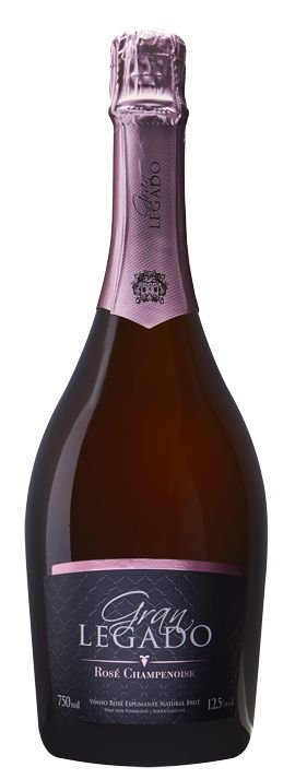 Espumante Gran Legado Brut Rosé Champenoise 750ml