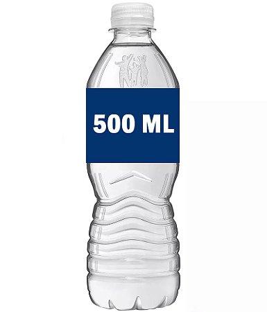 Água 500ml (com ou sem gás)