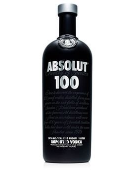 Vodka Absolut 100 1l